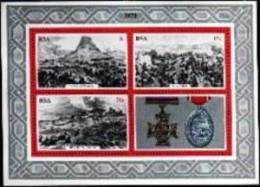 REPUBLIC OF SOUTH AFRICA, 1979, MNH Stamp(s) Block Nr. 7 Zulu War - South Africa (1961-...)
