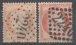 Siège De Paris N° 38/38b  Avec Oblitération Losange 2240  TB - 1870 Assedio Di Parigi