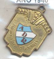 ASOCIACION DEPORTES RACIONALES AÑO 1940 REPUBLICA ARGENTINA - PELOTA AL CESTO - Professionals / Firms