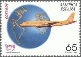 ESPAÑA 1994 - AMERICA UPAEP - TRANSPORTE POSTAL - AVION - Edifil Nº 3321 - Yvert 2912 - 1931-Hoy: 2ª República - ... Juan Carlos I