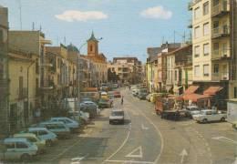 SPAGNA--BENICASIM--COSTA DEL AZAHAR--CALLE MAYOR--AUTO--CAR--ANIMACIÓN--FG--V 10-8-85 - Castellón