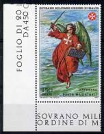 **4** - SMOM 1982 - Espresso - Affresco Di Ignazio Danti- Particolare - 1 Val.  MNH** -  Perfetto - Malta (la Orden De)