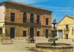 SPAGNA--TOLEDO--LOS NAVALMORALES--PLAZA DEL GENERALISIMO Y AYUNTAMIENTO--FG--V 2-1-2002 - Toledo