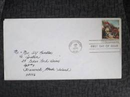 USA COVER 1975 FDC - United States