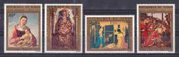 Chad - 1972 - ( Art - Painting - Christmas - Virgin And Child - By Bellini ) - Complete Set - MNH (**) - Religión