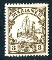(866)  Mariana Is. 1901  Mi.7  Mint*  Sc.17 ~ (michel €1,30) - Colony: Mariana Islands