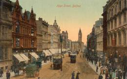 High Street Tram Belfast 1905 Postcard - Antrim / Belfast