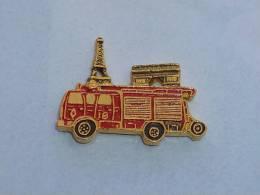 Pin's SAPEURS POMPIERS DE PARIS, FPT - Pompiers