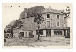 AVEYRON  /  CAMPUAC  /  LA  PLACE  ( Magasin Et Pompe à Essence ) /  Edit. ANGLES - France