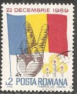 Romania 1990 Usato - Mi.4585  Yv.3868 - 1948-.... Republics