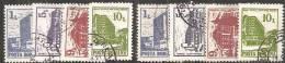 Romania 1991 Usato - Mi.4667/70  Yv.3953/56  X2 - 1948-.... Republiken