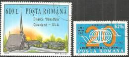 Romania 1994 Usato - Mi.5049/50  Yv.4215/16 - 1948-.... Republiken