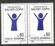 Romania 1995 Usato - Mi.5062  Yv.4224  Coppia - 1948-.... Republiken