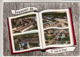 50 - SAINT JEAN De DAYE - CPSM Multi-vues Souvenir. - France