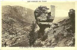 Les Vignes. Le Village Des Vignes Et Le Poste Du Guetteur. - Andere Gemeenten