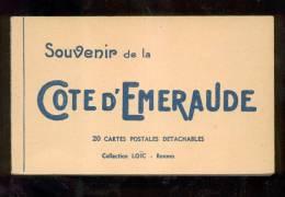5312 - 35 - Carnet, Souvenir De La Cote D'émeraude - France