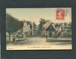 LA ROCHE GUYON LA RUE DU PONT   CIRC 1913  EDIT  SETIER - La Roche Guyon