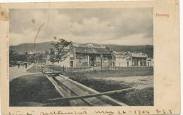 Penang No 3 Mahomed Assan Undivided Back . Not Used Written 1904 - Malasia