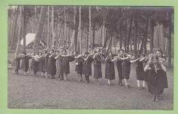CHAMARANDE : Les Cheftaines. Scouts De France Années 20. 2 Scans. CARTE PHOTO - Scoutisme