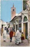 Cpsm Tunisie, Tunis, Souk El Blat - Tunisie