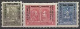 YU 1931-238-60 DEFINITIVE, YUGOSLAVIA, 1 X 3v, MNH - Neufs