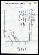 Belgique - Ville Sur Haine - Maison Fernand CARLIER - Bois & Matériaux - 1974 - 1950 - ...