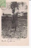 COTE D'IVOIRE 16 FEMME AGNI (PORTANT ENFANT SUR SON DOS BEAU PLAN) 1904 - Côte-d'Ivoire