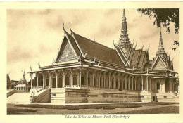 Cambodge. Phnom Penh. La Salle Du Trône. - Cambodja