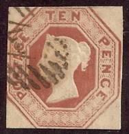 GRAN BRETAÑA 1847/54 - Yvert #6 - VFU - 1840-1901 (Victoria)