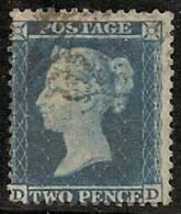 GRAN BRETAÑA 1855/58 - Yvert #15 - VFU - 1840-1901 (Viktoria)