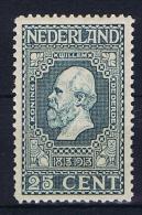 Netherlands, 1913, NVPH 96 MNH/** - Periode 1891-1948 (Wilhelmina)