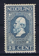 Netherlands, 1913, NVPH 96 MNH/** - 1891-1948 (Wilhelmine)