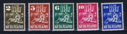 Netherlands, 1950 NVPH 556-560,  MH/* - Neufs