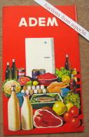 """Brochure """"Frigos ADEM, Avenue Des Acacias, Wavre"""" - Vieux Papiers"""
