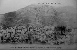 Debdou : Devant La Popote à L´intérieur Du Camp - Maroc