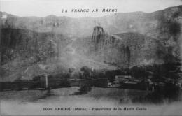 Debdou : Panorama De La Haute Casba - Altri