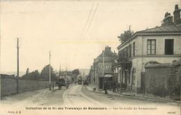 76 COLLECTION DE LA COMPAGNIE DES TRAMWAYS DE BONSECOURS - SUR LA ROUTE DE BONSECOURS - Bonsecours