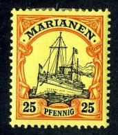 (893)  Mariana Is. 1901  Mi.11  Mint* Sc.21 ~ (michel €2,00) - Colony: Mariana Islands
