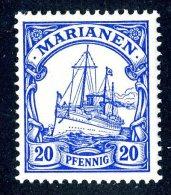 (898)  Mariana Is. 1901  Mi.10  Mint* Sc.20 ~ (michel €1,50) - Colony: Mariana Islands