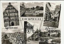 GRUSS AUS HAMELN WESER STRAPPO IN BASSO - Hameln (Pyrmont)