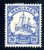 (902)  Mariana Is. 1901  Mi.10  Mint* Sc.20 ~ (michel €1,50) - Colony: Mariana Islands