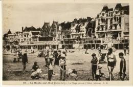 CP, 44, La Baule-sur-Mer, La Plage Devant L'Hôtel Adriana, Vierge - La Baule-Escoublac