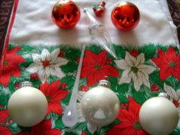 Décorations De Noël, En Verre, Toutes époques, - Decorative Items