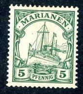 (920)  Mariana Is. 1901  Mi.8  Mint*  Sc.18 ~ (michel €1,30) - Colony: Mariana Islands