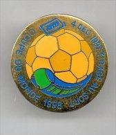 PINS PIN'S  FOOT FOOTBALL RTM BUS COUPE DU MONDE 1998 MARSEILLE FRANCE 98 EGF TIRAGE AU SORT 4/12/1997 - Villes