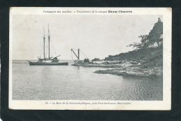 MARTINIQUE - La Baie De La Pointe Des Nègres Près De FORT DE FRANCE - Compagnie Des Antilles - Popr. RHUM CHAUVET - Martinique