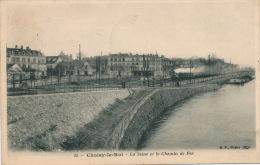 CHOISY LE ROI - La Seine Et Le Chemin De Fer (passage Train) - Choisy Le Roi