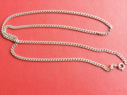 (25) Chaine En Argent - 50 Cm  - 9,45 Grs - - Collares/Cadenas