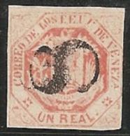 VENEZUELA 1865/70 - Yvert #17 - VFU - Venezuela