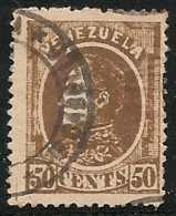 VENEZUELA 1880 - Yvert #27 - VFU - Venezuela